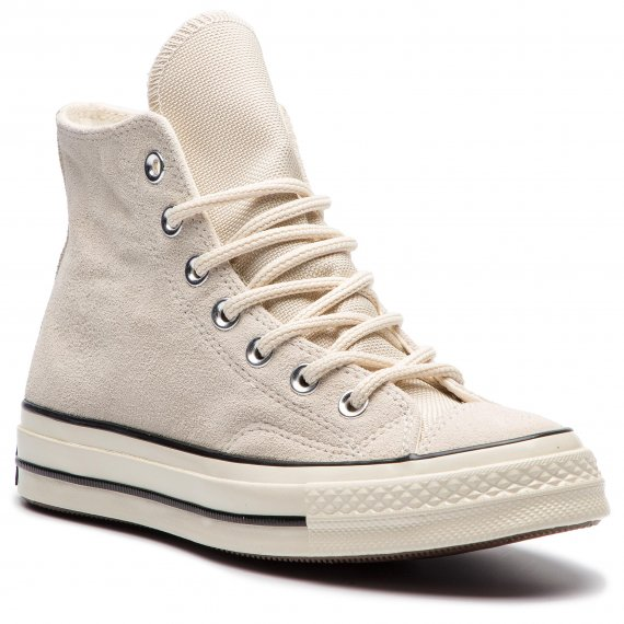 Sneakersy CONVERSE - Chuck 70 Hi 162372C Natural Ivory/Blac