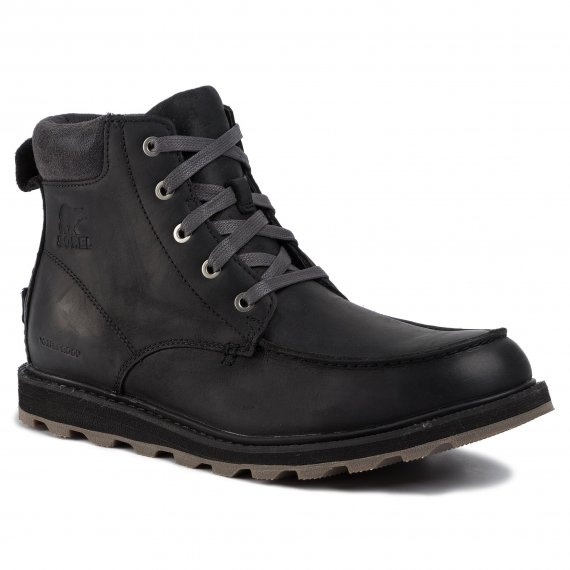 Trzewiki SOREL - Madson Moc Toe Waterproof NM2346 Black/Dark Grey 010