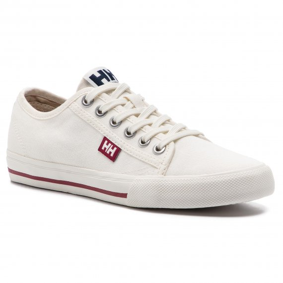 Tenisówki HELLY HANSEN -  Fjord Canvas Shoe V2 114-66.011 Off White/Beet Red/Navy