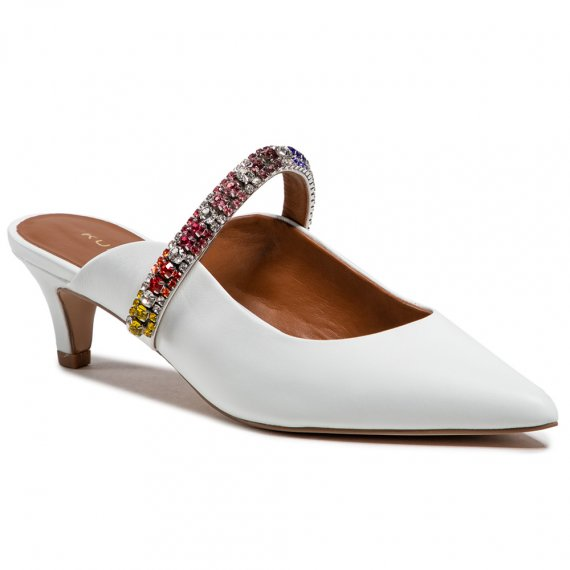 Klapki KURT GEIGER - Dutchess 7426210109 White