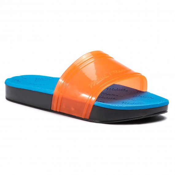 Klapki MELISSA - Slide + Rider Ad 32434 Orange/Blue/Green 53430