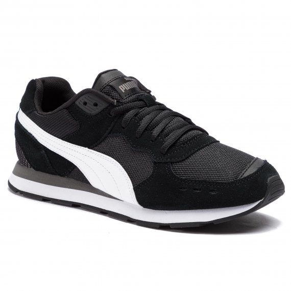Sneakersy PUMA - Vista 369365 01 Black/White/Charcoal Gray