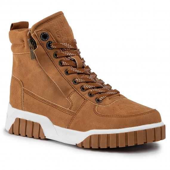 Sneakersy BIG STAR - EE274224 Camel