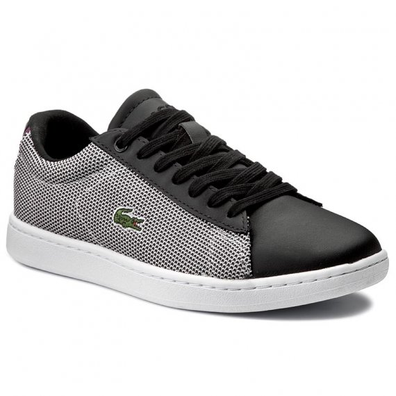 Sneakersy LACOSTE - Carnaby Evo 117 1 Spw 7-33SPW1010312 Blk/Wht