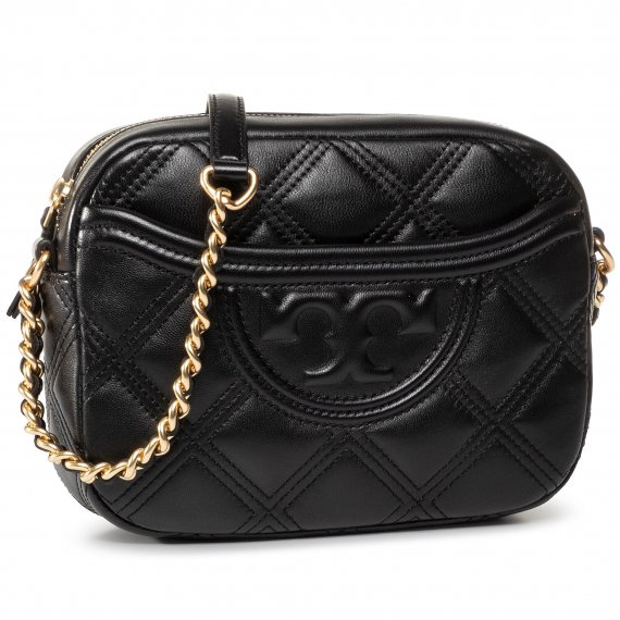 Torebka TORY BURCH - Fleming Soft Camera Bag 62091 Black 001