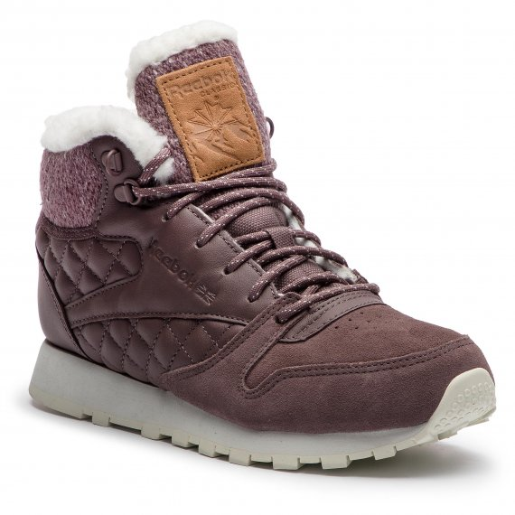 Buty Reebok - Cl Lthr Arctic Boot CN3747 Almost Grey/Chalk/Camel