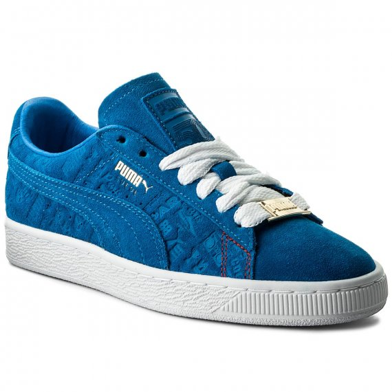 Sneakersy PUMA - Suede Classic Paris 366298 01 Electric Blue Lemonade