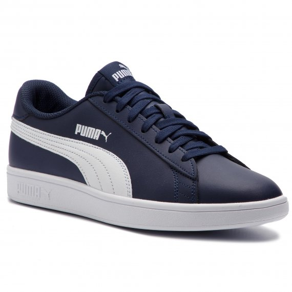 Sneakersy PUMA - Smash V2 L 365215 05 Peacoat/Puma White