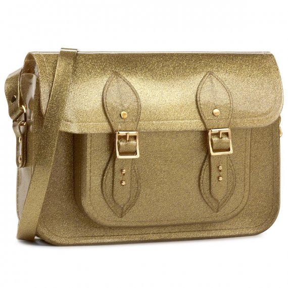 Torebka MELISSA - Satchel+The Cambridge 34114  Golden Glitter 03769