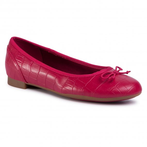 Baleriny CLARKS - Couture Bloom 261502824 Fuchsia