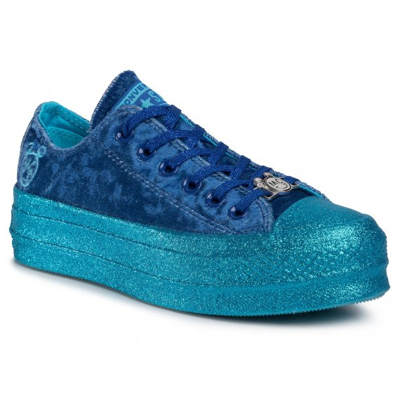 Trampki CONVERSE - Ctas Lift Ox 563721C Gnarly Blue/Blue/Gnarly Blue
