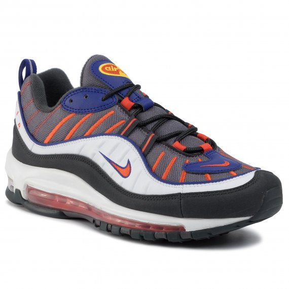 Buty NIKE - Air Max 98 640744 012 Gunsmoke/Team Orange