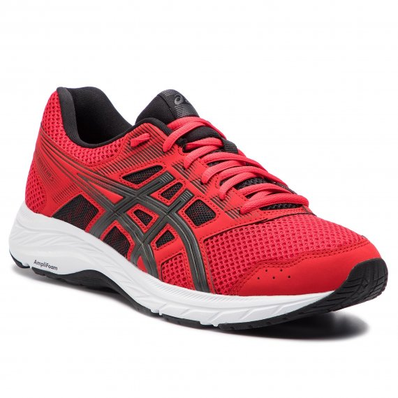 Buty ASICS - Gel-Contend 5 1011A256 Classic Red/Dark Grey 600