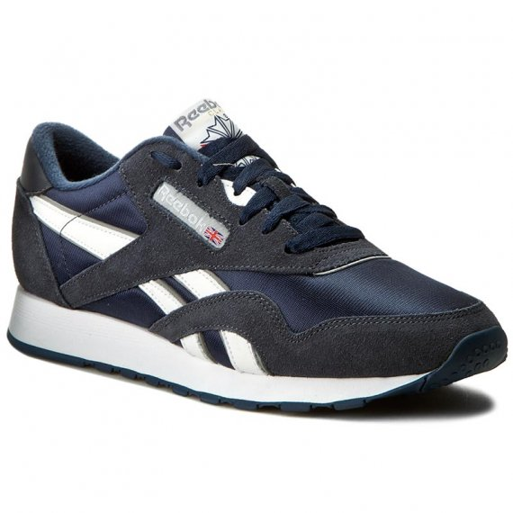 Buty Reebok - Cl Nylon 39749 Team Navy/Platinum