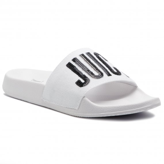 Klapki JUICY BY JUICY COUTURE - Maisy JJ161 White/Black