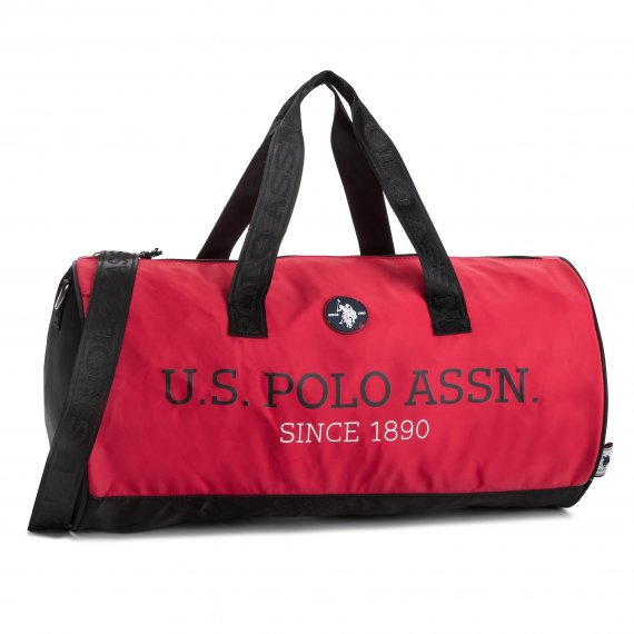 Torba U.S. POLO ASSN. - New Bump Duffle Bag BEUNB0534MIA/400 Red