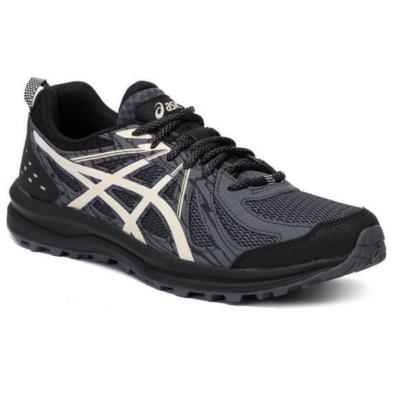 Buty ASICS - Frequent Trail 1011A034  Black/Birch 005
