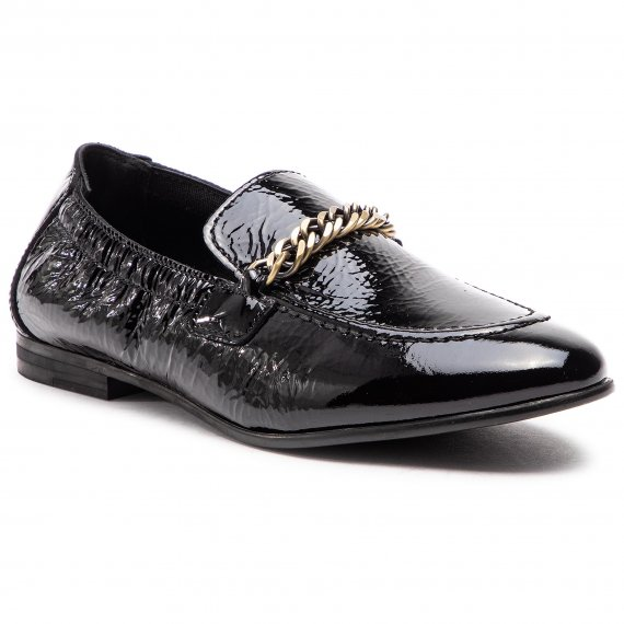 Lordsy TOMMY HILFIGER - Rubberized Chain Loafer FW0FW03763  Black 990