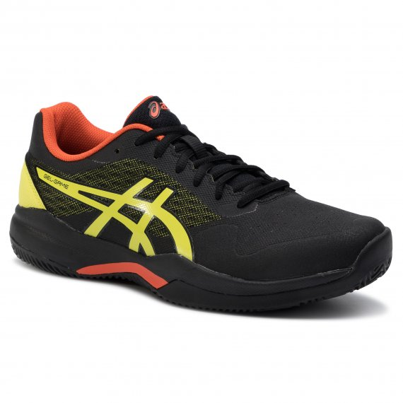 Buty ASICS - Gel-Game 7 Clay/Oc 1041A046 Black/Sour Yuzu 011