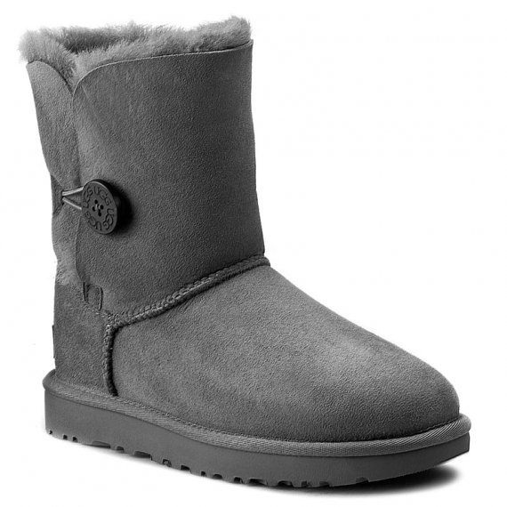 Buty UGG - W Bailey Button II 1016226 W/Grey