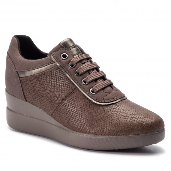 Sneakersy GEOX - D Stardust A D8430A 09DAF C6132 Chestnut/Taupe