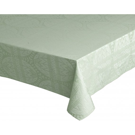 Obrus Easter Damask zielony 150 x 220 cm