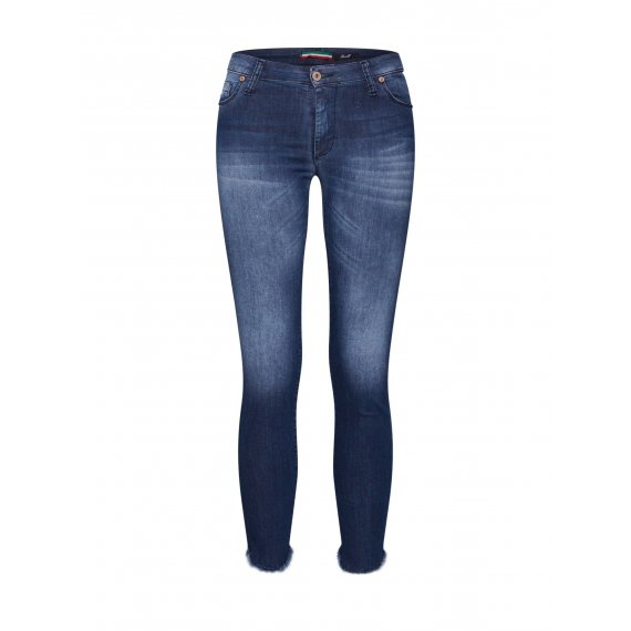 PLEASE Jeansy  niebieski denim