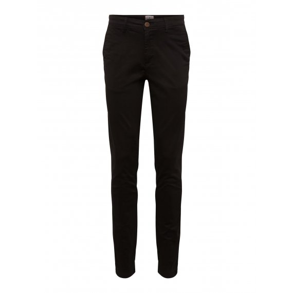 JACK & JONES Chinosy 'MARCO'  czarny