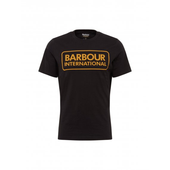 Barbour International Koszulka 'Essential Large Logo Tee'  czarny