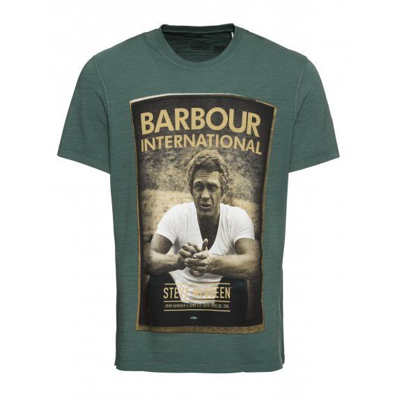 Barbour International Koszulka 'Relax Tee'  khaki