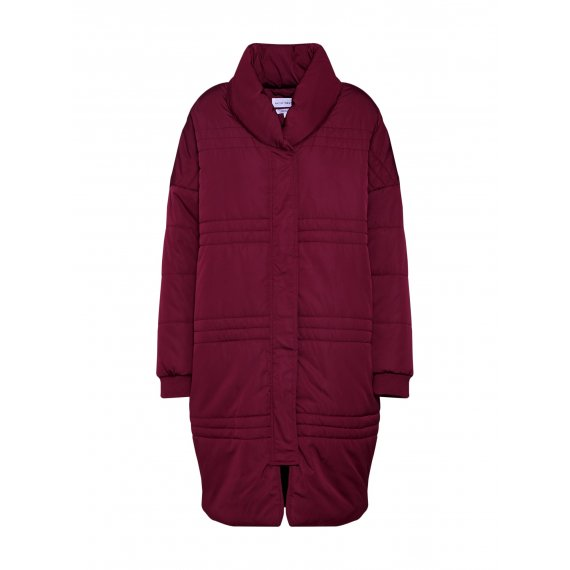 Native Youth Płaszcz zimowy 'NUBLU PUFFER JACKET'  burgund