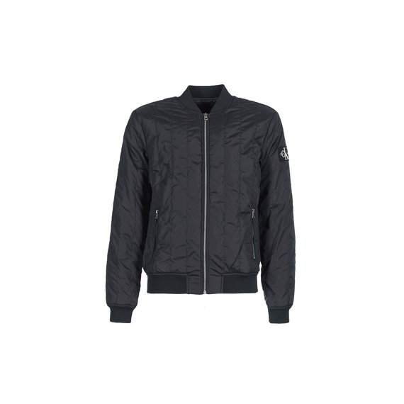Calvin Klein Jeans  Kurtki krótkie DOUBLE SIDE POCKET QUILTED BOMBER