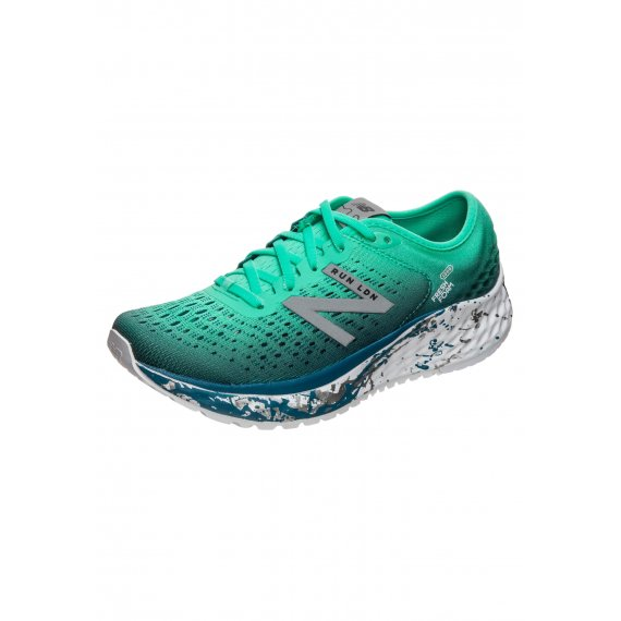 New Balance Buty do biegania 'FreshFoam 1080v9 London'  niebieski / limonka